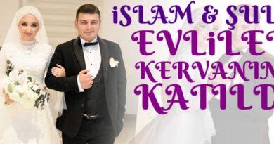 Aşkları düğünle taçlandı